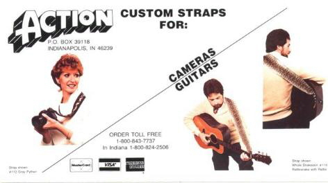 Action Custom Straps Brochure
