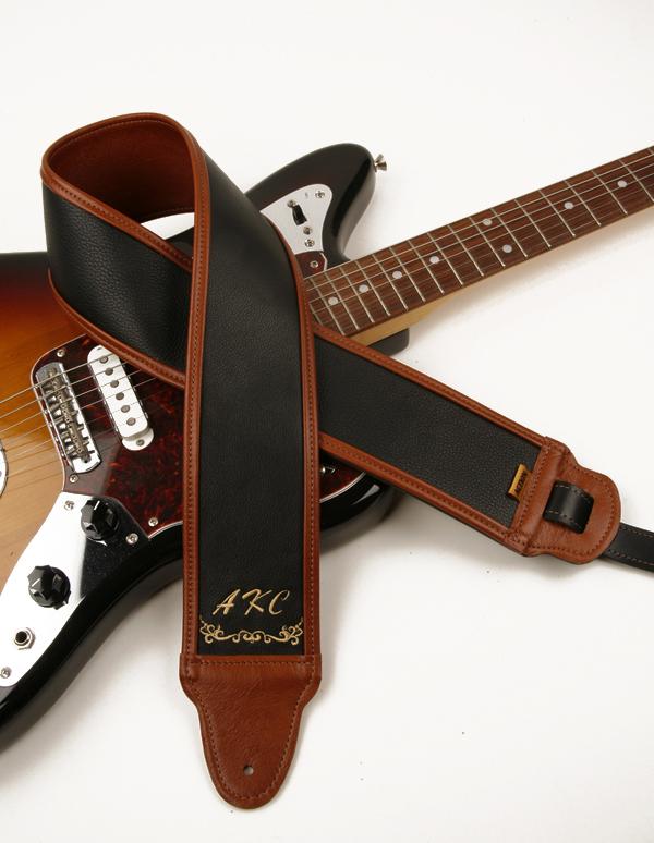 AKC Monogram Custom Guitar Strap