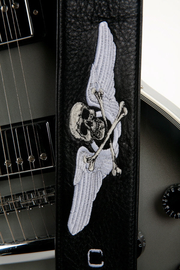 Cockpit Custom Guitar Strap closeup