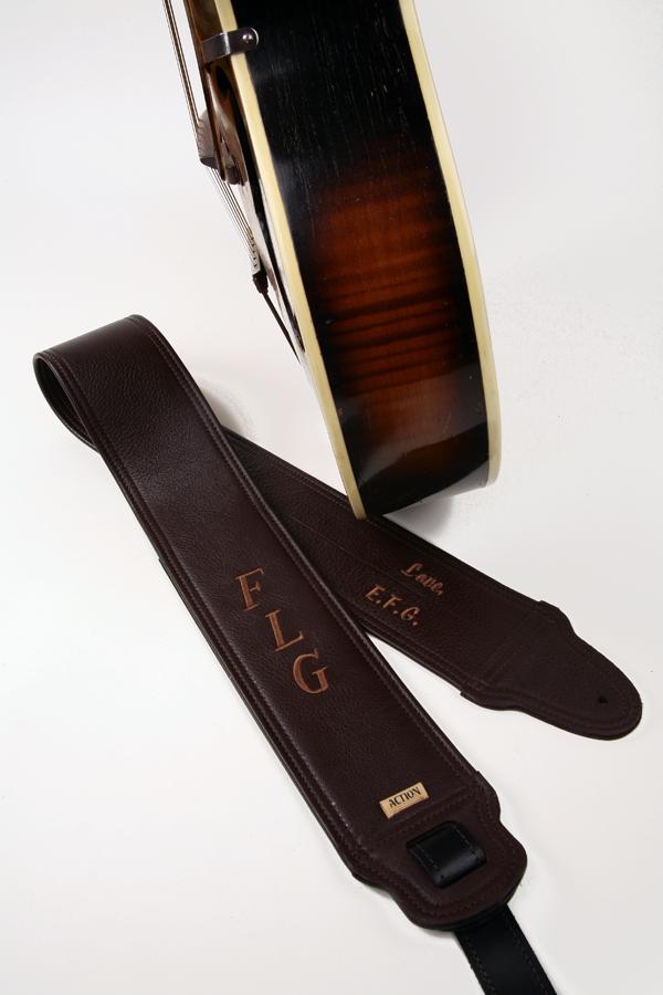 FLG Monogram Custom Guitar Strap