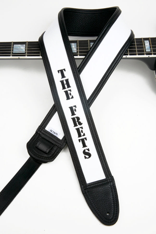 The Frets Custom Guitar Strap