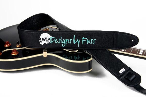 Designs By Fuss Custom Guitar Strap