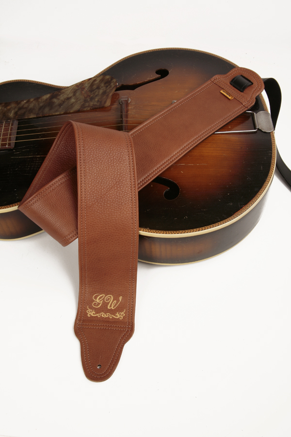 GW Monogram Custom Guitar Strap