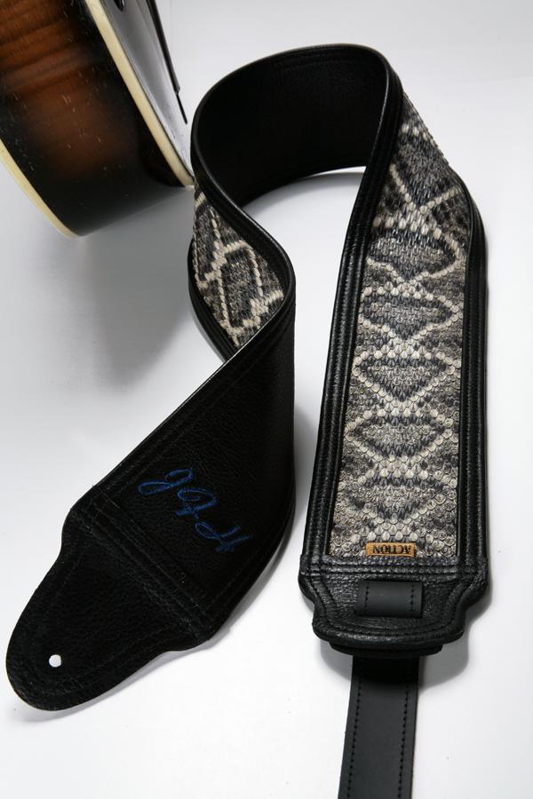 JFH Custom Daimondback Guitar Strap