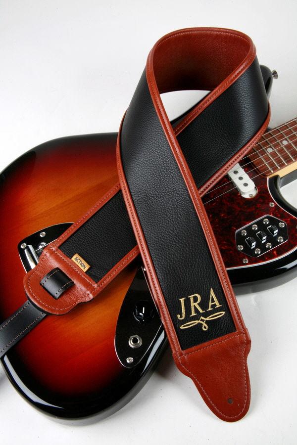 JRA Monogram Custom Guitar Strap