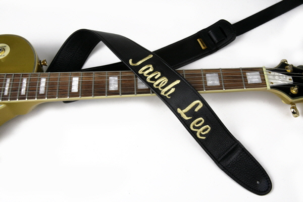Jacob Kee Embroidered Custom Guitar Strap