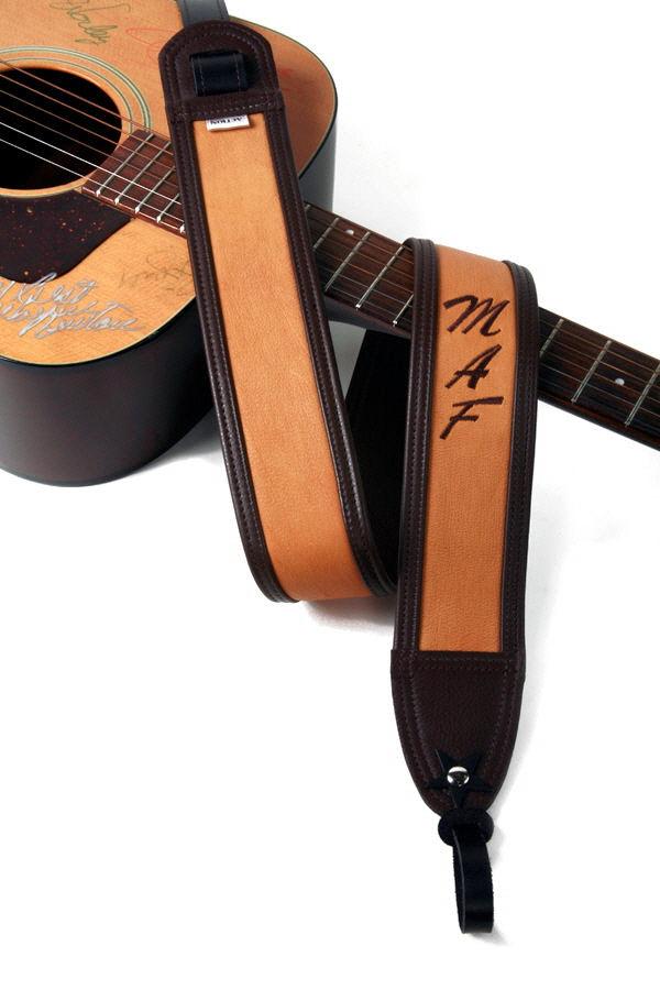 MAF Monogram Custom Guitar Strap