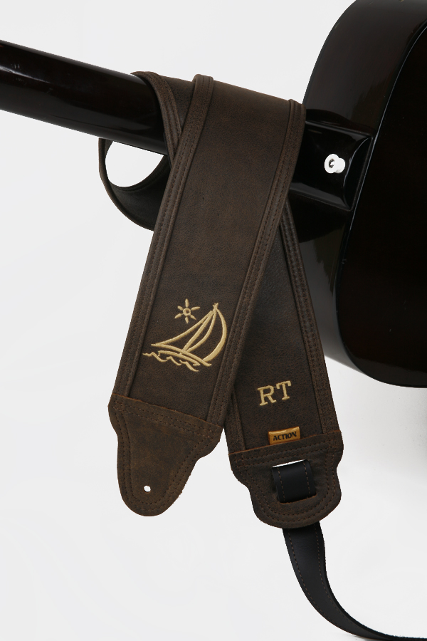 RT Monogram Custom Guitar Strap