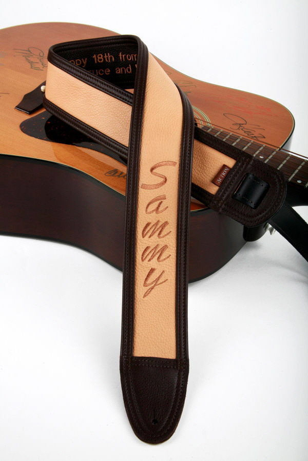 Sammy Custom embroidered Guitar Strap