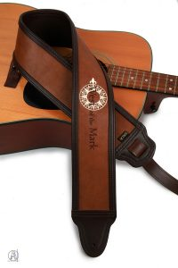 West of the mark custom guitar strap
